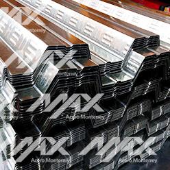 Lámina losacero galvanizada; Max Acero Monterrey
