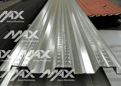 Lámina de acero galvadeck; Max Acero Monterrey