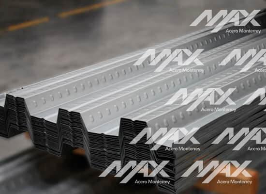 Lámina losacero; Max Acero Monterrey
