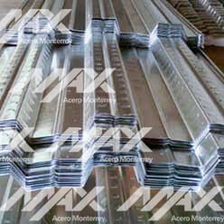 Lámina losacero Ternium; Max Acero Monterrey